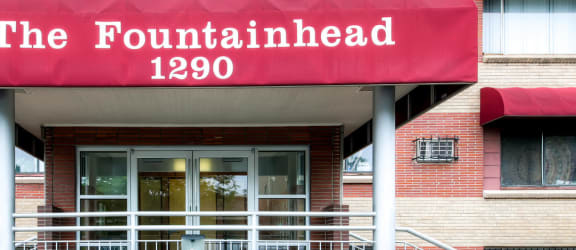 Fountainhead Apartments Entry Awning
