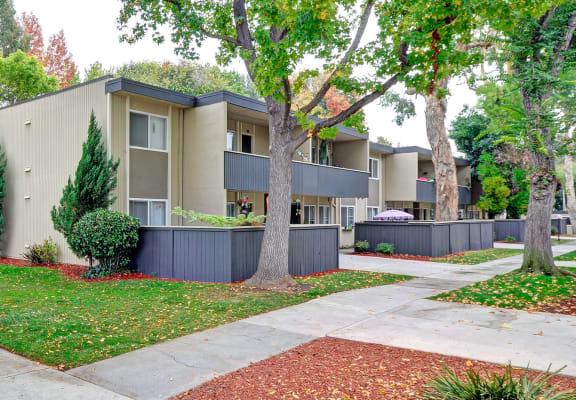 Outdoors at Trestles Apartments in San Jose, CA