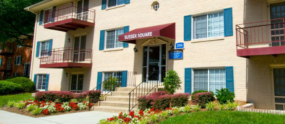 Private Balcony at Sussex Square, Suitland, MD, 20746