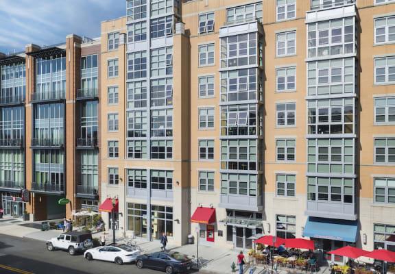 Elegant Exterior View Of Property at The DeSoto Apartments, DC, 20005