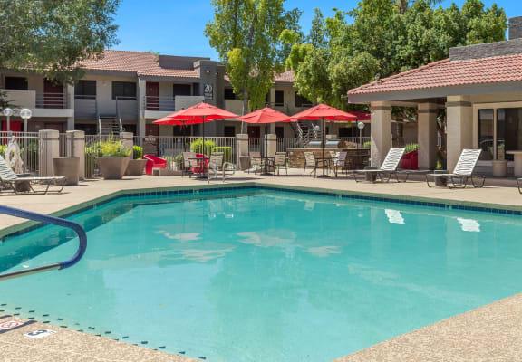 North Mountain Village Apartments Pool Area