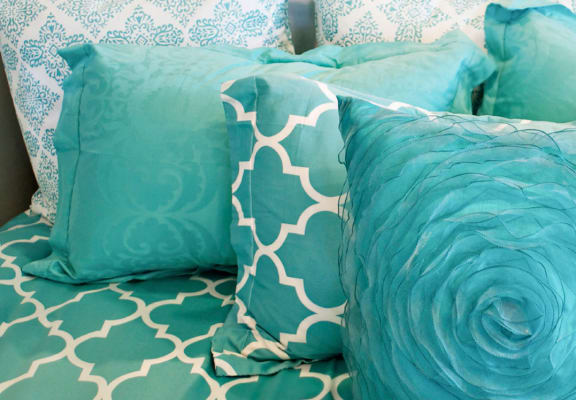 Pillows at The Barrington Apartments in Silver Spring, MD