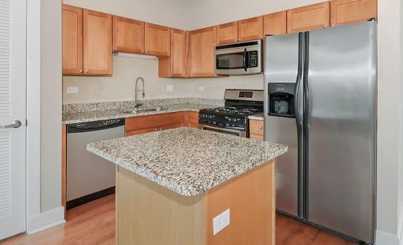 Modern Kitchen at 2000 N Milwaukee Ave