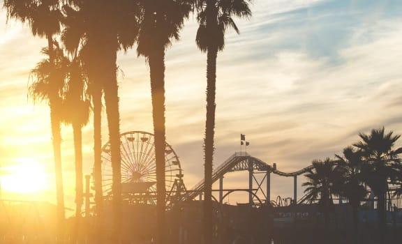 Ocean Palms and Palisades_Santa Monica CA_Santa Monica Pier