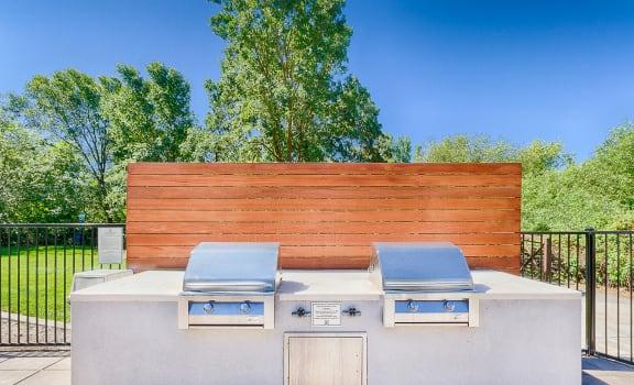 BBQ Area at Renaissance Apartments in Santa Rosa, California