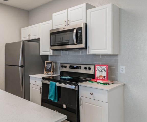 Fully Equipped Island Kitchen at Village at Lake  Highland, Florida, 33813