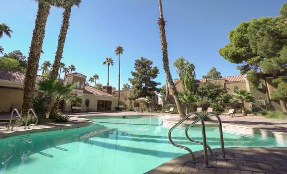 Pool Pacific Harbor Las Vegas Nevada
