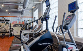 Residents can workout at their leisure in the Ovaltine Court Fitness Center