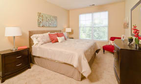 All Ovaltine Court apartments have king-sized bedrooms.