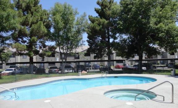 Invigorating Swimming Pool at Madison at Green Valley Apartments, Henderson, NV