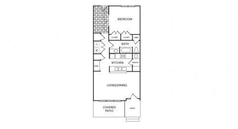 Harbor Town - A1H - 1 bedroom and 1 bath