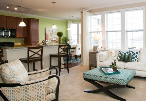 VistaView Apartments Living Room