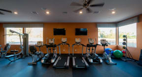 Fitness center with cardio equipment | Pima Canyon