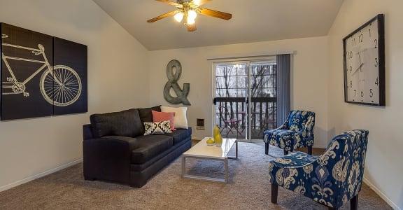 Native Sun Apartments | Living Room
