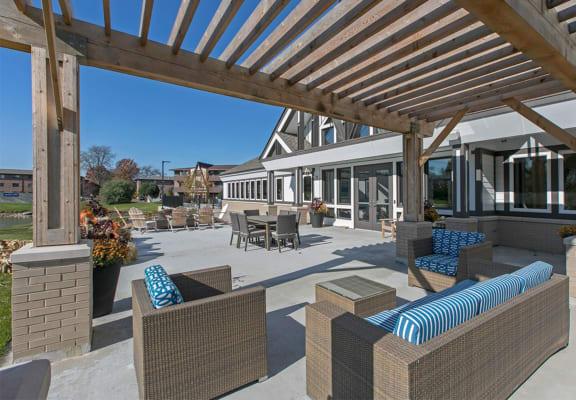 Outdoor Patio Lounge Westmont Village in Westmont, IL 60559