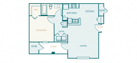 Versant Place - A1 - Astor - 1 bed - 1 bath