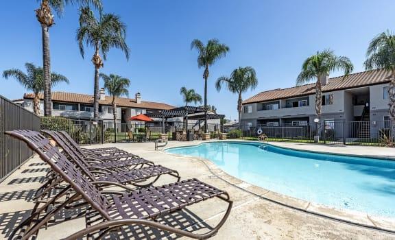 Poolside at Sedona Apartment Homes in Moreno Valley, CA 92553