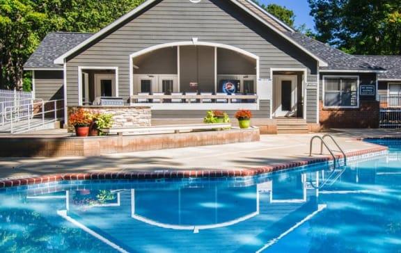 Pool at Amberwood at Lochmere | Amberwood at Lochmere East, Cary, North Carolina