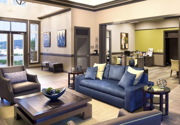Clubhouse with Upgraded Interiors at Grand Oak at Town Park, Tennessee