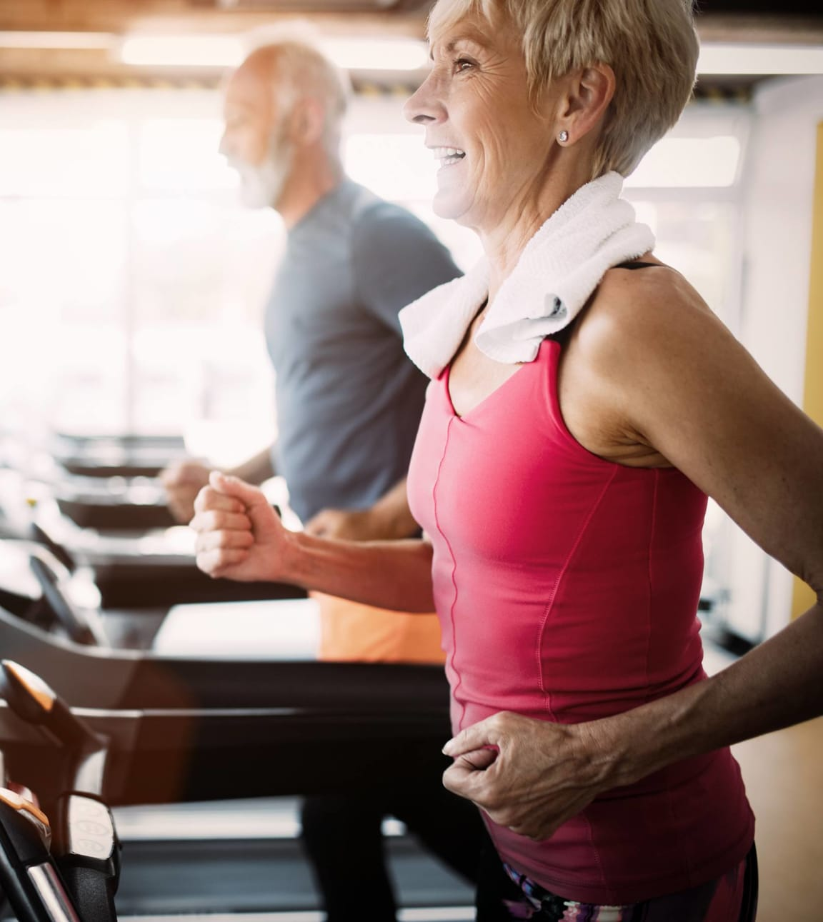 This is a picture of the fitness center at Cambridge Court Apartments in Dallas, TX