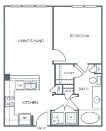 AVANT on Market Center - A2 - 1 bedroom and 1 bath