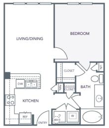 AVANT on Market Center - A1 - 1 bedroom and 1 bath