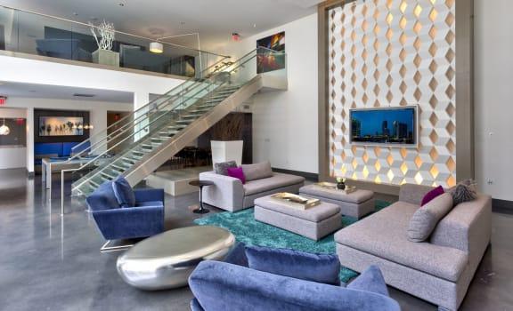 Social Lounge at Berkshire Terminus, Atlanta, GA, 30305