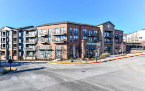 Exterior view of building at Elevate West Village, GA, 30080