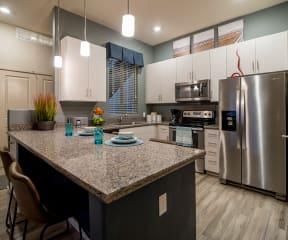 Kitchen with granite countertops | Pima Canyon