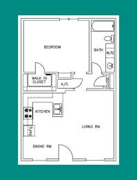 Floor Plan A1 - 2207