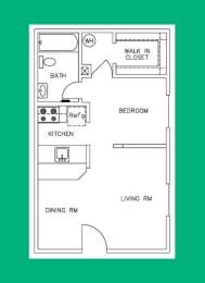 Floor Plan E2 - 2208