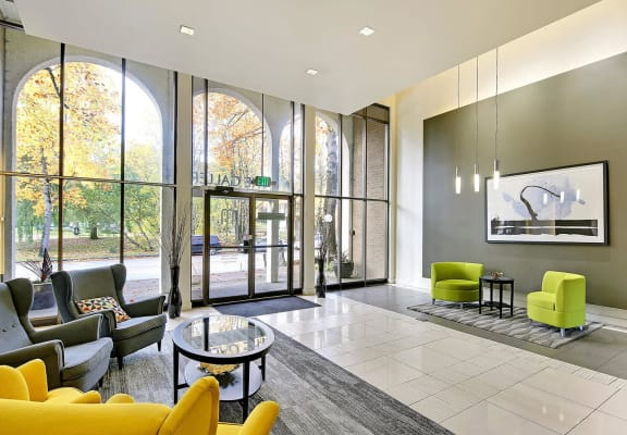 The Galleria Apartment Homes Interior Front Entrance