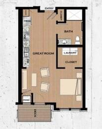 Floor Plan  Boulevard Floor plan at Victoria Flats, Minnesota, 55386