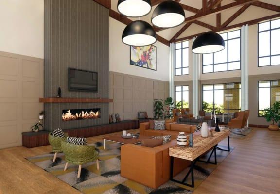 Oasis at Twin Lakes_Community Room Rendering_Main