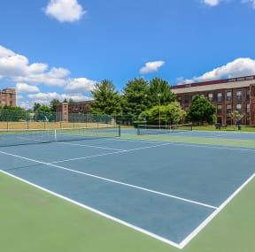 Tennis court  | Bigelow Commons