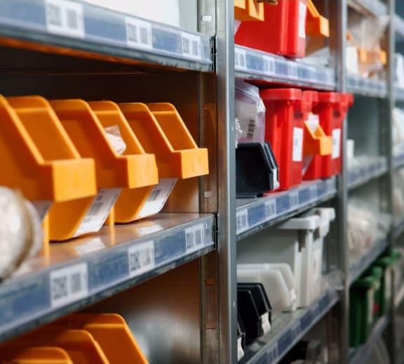 Warehouse Storage Bins