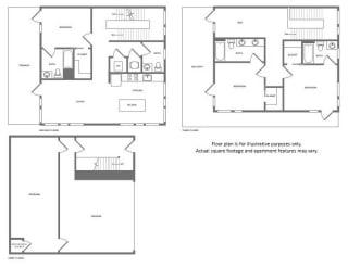 Floor Plan at Morningside Atlanta by Windsor, Atlanta, GA