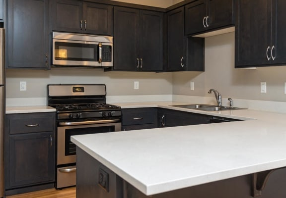 707 Communities | Northside Townhomes Kitchen