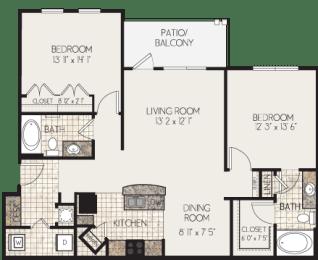 Floor Plan B1-N