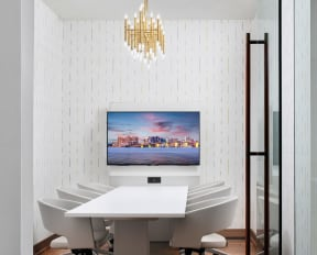 Resident conference room  | District at Rosemary