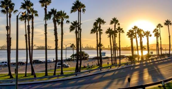Beach Palms at Marine View Apartments, California