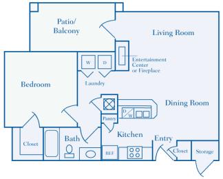 Lantern Woods - A1 - The Beacon - 1 bedroom - 1 bath