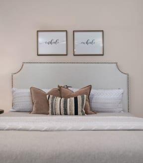 Gorgeous Bedroom| Lodge at Lakeline Village