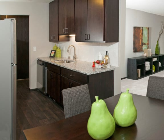 Open Floor plan at Eden Glen, Eden Prairie, 55344
