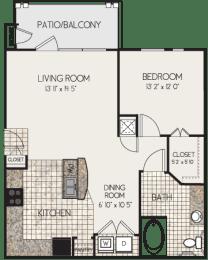 Floor Plan A1N-M