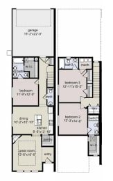 Floor Plan 3BD x 3.5BA