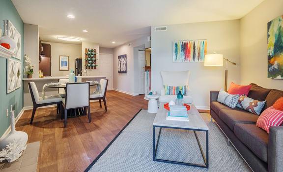 Modern Living Room at Waverly Place, North Charleston, SC, 29418