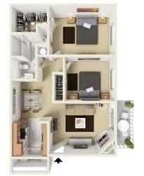 Floor Plan at Aviare Place, Midland, TX