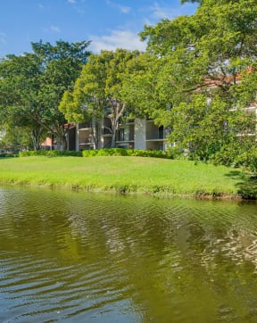 Select apartments offer water views | Village Place