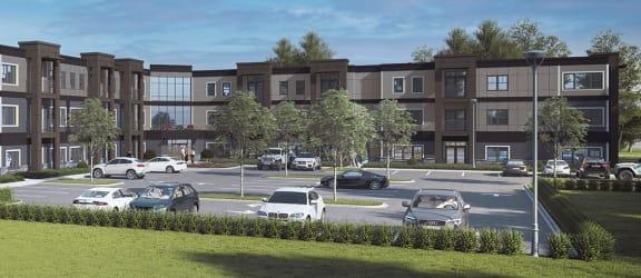 Millside at Heritage Park rendering